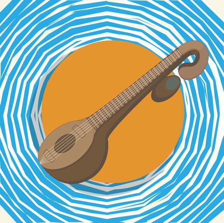 saraswati: Indian Goddess Saraswati - Music Instrument