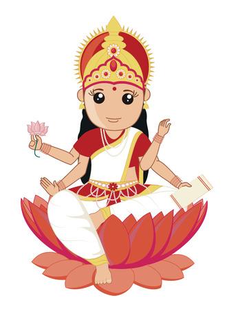 saraswati: Indian Goddess of Education and Art - Saraswati Mata