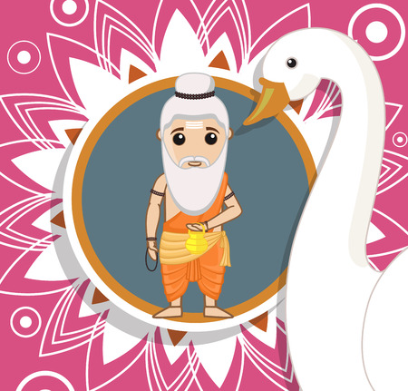 Cartoon Rishi - Hinduism