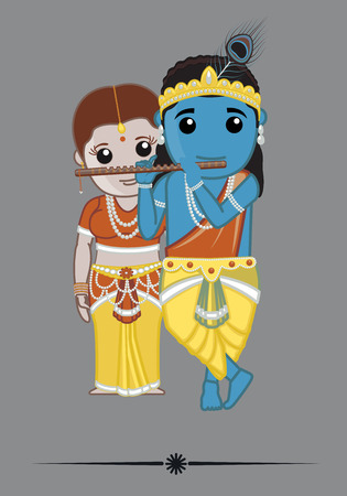 krishna: Hindu Gods - Radha Krishna
