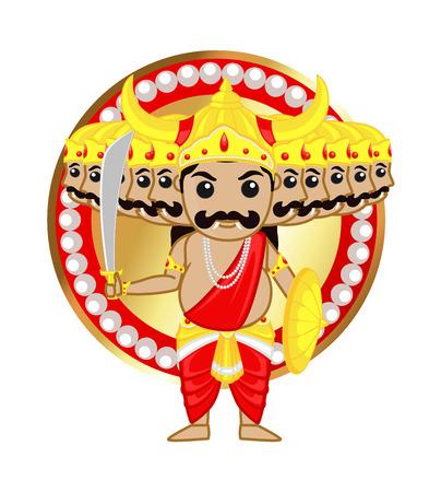 sri lankan: Ravan Sri Lankan God