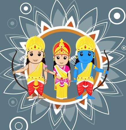ramayana: Ram Navami - Hindu Festival Illustration