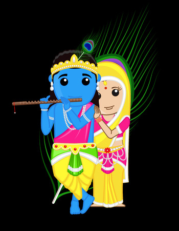 radha: Radha Krishna - Indian Gods