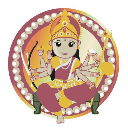 durga: Hindu Goddess - Maa Durga