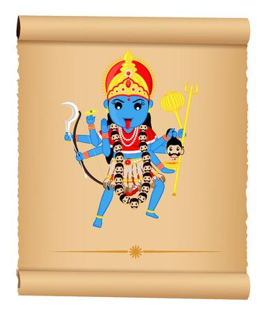 hindu goddess: Hindu Goddess - Maa Kali