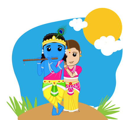 radha: Radha and Krishna - Hindu Goddess
