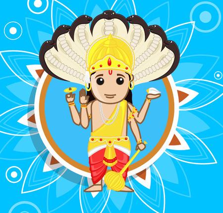 lord vishnu: Lord Vishnu - A Hindu God