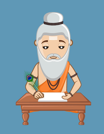 ashram: Valmiki - Old Indian Saint Writer