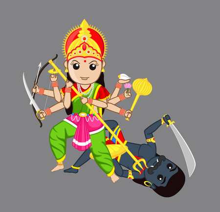 killing: Maa Durga Killing Monster