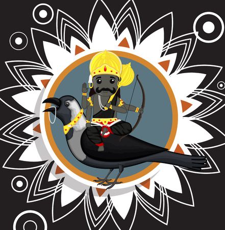 dev: Indian God of Death - Shani Dev