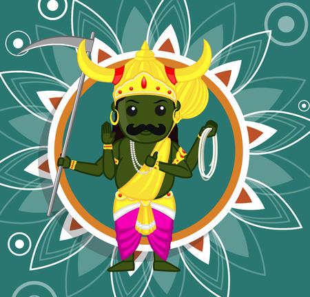 b�n�diction: Yamraj B�n�diction - Dieu indien de la Mort