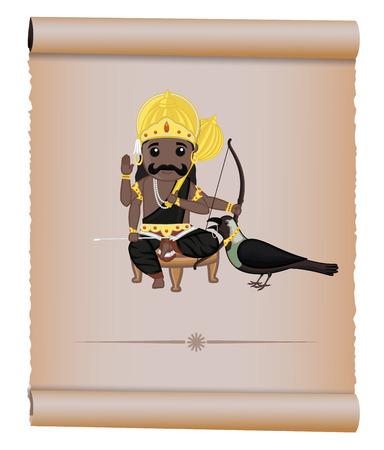 hindu god: Shani Maharaj - dios hind� de la Muerte