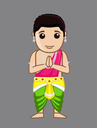 jain: Praying Siddharth - Gautam Buddha