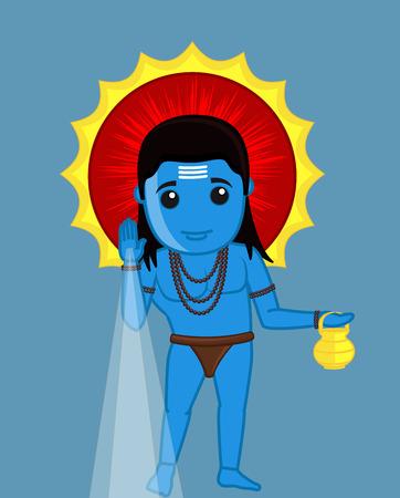 Baba Balaknath - Blessing Ilustração