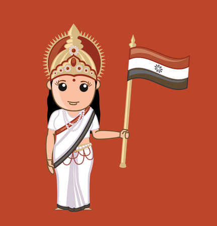 bharat: Bharat Mata - Indian God