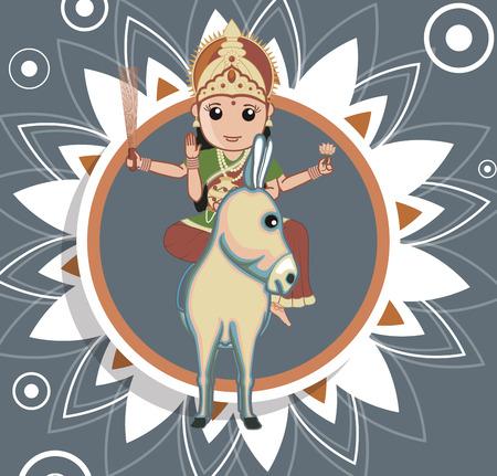 devi: Sheetla Mata - Indian Goddess