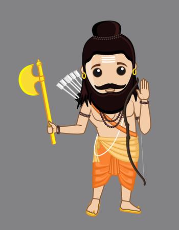 acharya: Young Cartoon Parshuram Character