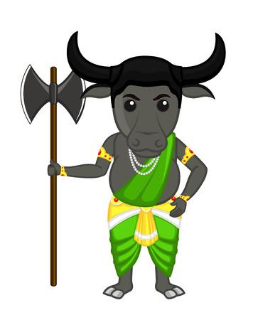 indian buffalo: Buffalo - Hindu Mythological God