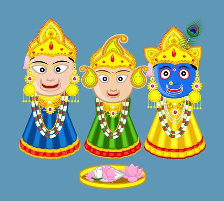 spiritual bless: Shri Jagannath - Orissan God