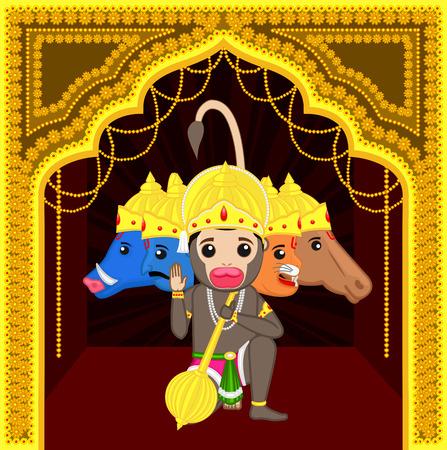 ramayan: Panchmukhi Hanuman - Cartoon God