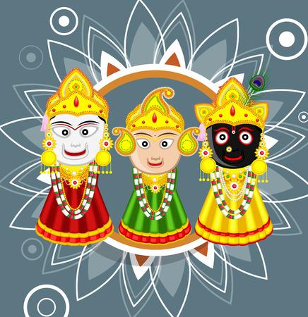 indian god: Lord Jagannath - Indian God