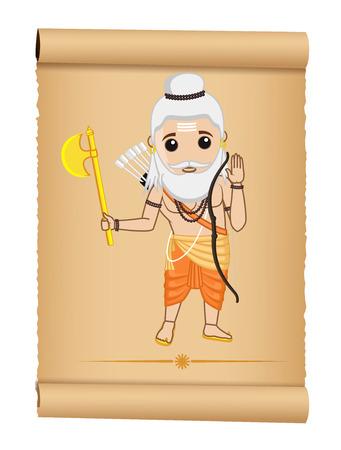 acharya: Saint Parshuram Illustration