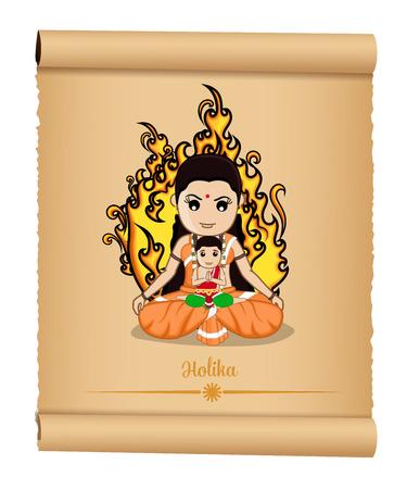 vedic: Holika Dahan - Hindu Mythological Cartoon Characters