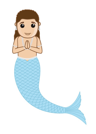 mythological character: Male Mythological Mermaid Character