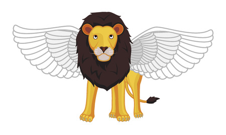 mythological character: Lion with Wings - Indian Mythological Character