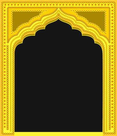 Modern Royal Golden Frame