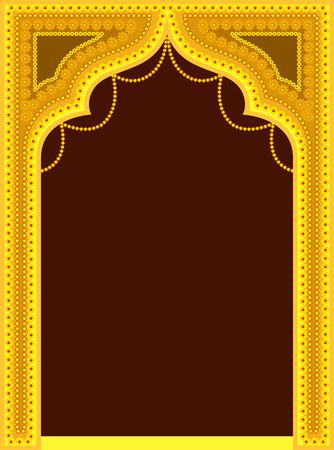 Golden Royal Decorative Frame