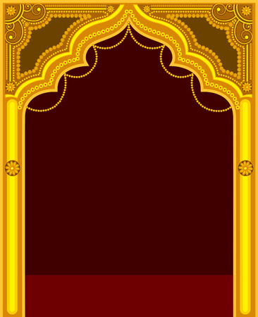 Golden Temple Door Frame