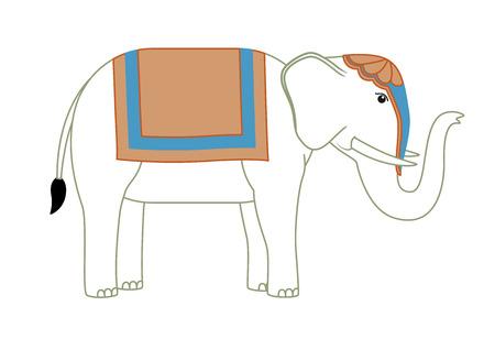 vedas: Cartoon Elephant