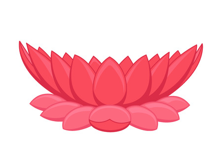 budding: Lotus Flower Illustration