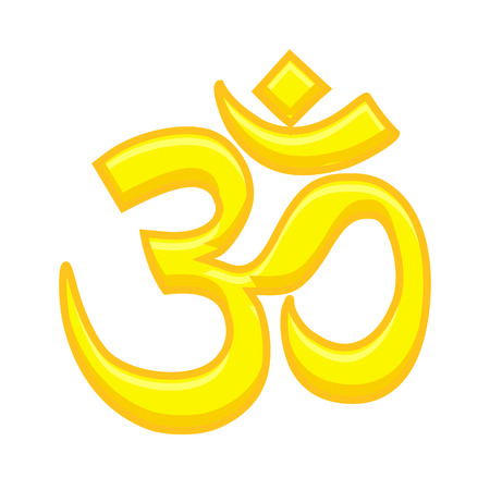 aum: Aum Symbol - Hindu Mythological Symbol