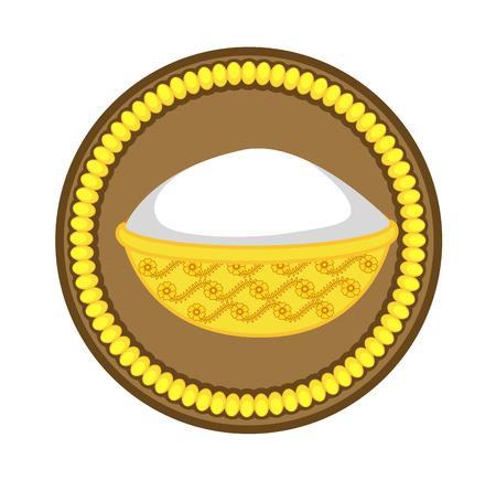 golden: Golden Bowl - Hindu Mythological