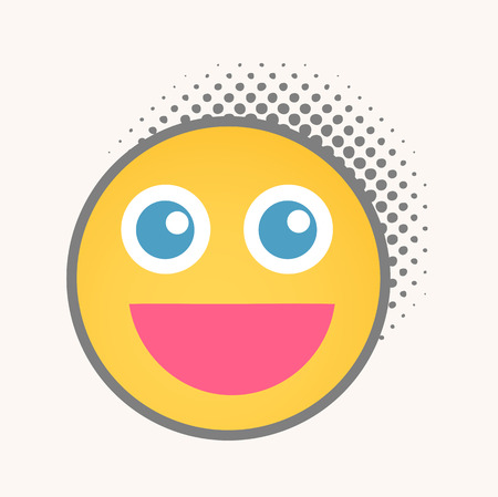 smiley: Smile - Cartoon Smiley Vector Face