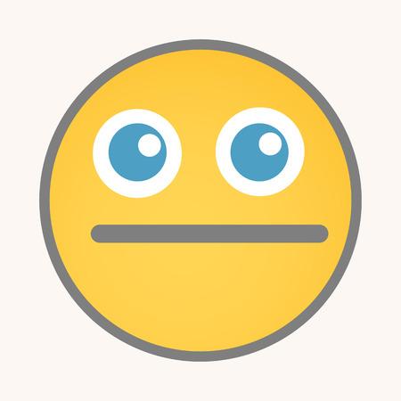 quiet: Keep Quiet - Cartoon Smiley Vector Face