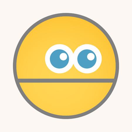 foolish: Foolish - Cartoon Smiley Vector Face