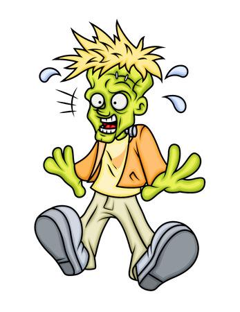 megrémült: Scared Frankenstein Character