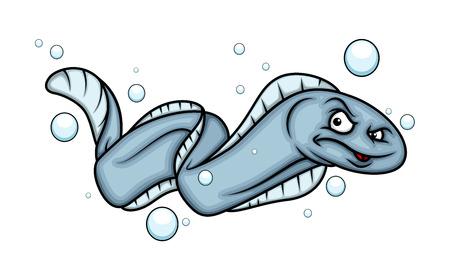 displeasure: Bad Eel Fish Illustration