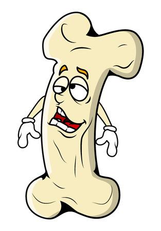 femur: Lazy Cartoon Bone Character