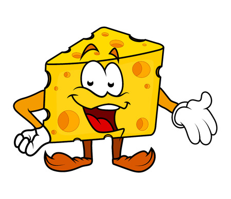 laughing: Laughing Cartoon Cheese Presenting