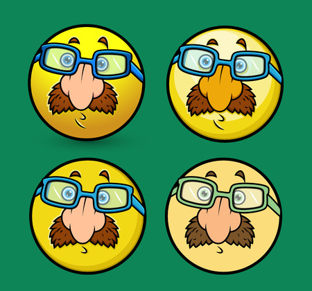fake nose and glasses: Disguise Smiley Set with Fake Nose and Glasses