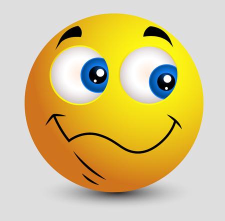 innocent: Cute Side Eyes Emoji Smiley Emoticon