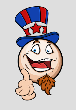 i want you: I Want You - Patriotic Uncle Sam Emoticon