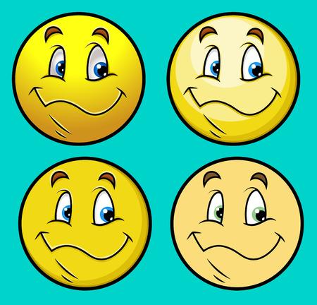 innocent: Pleasure Smile Set Illustration