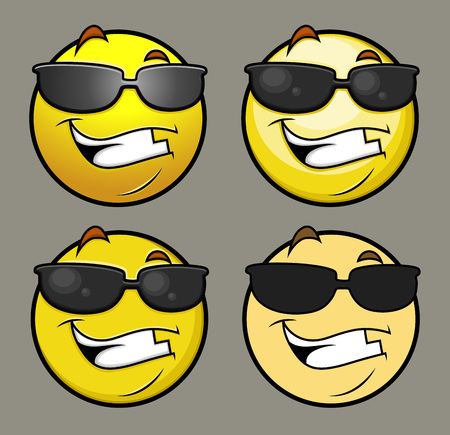 eyewear fashion: Sun Glasses Emoji Smiley Emoticon