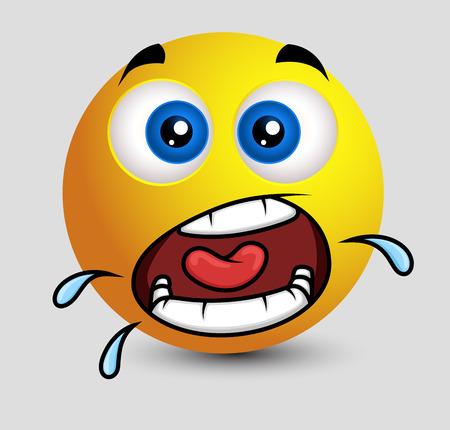 smiley: Excited Smiley Screaming Emoji Smiley Emoticon
