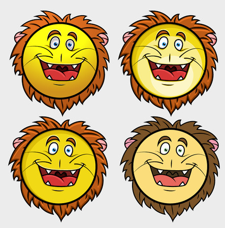 happier: Lion Emoji Smiley Emoticon